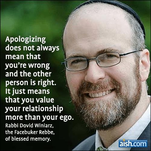 Quote From The Facebooker Rebbe of Blessed Memory